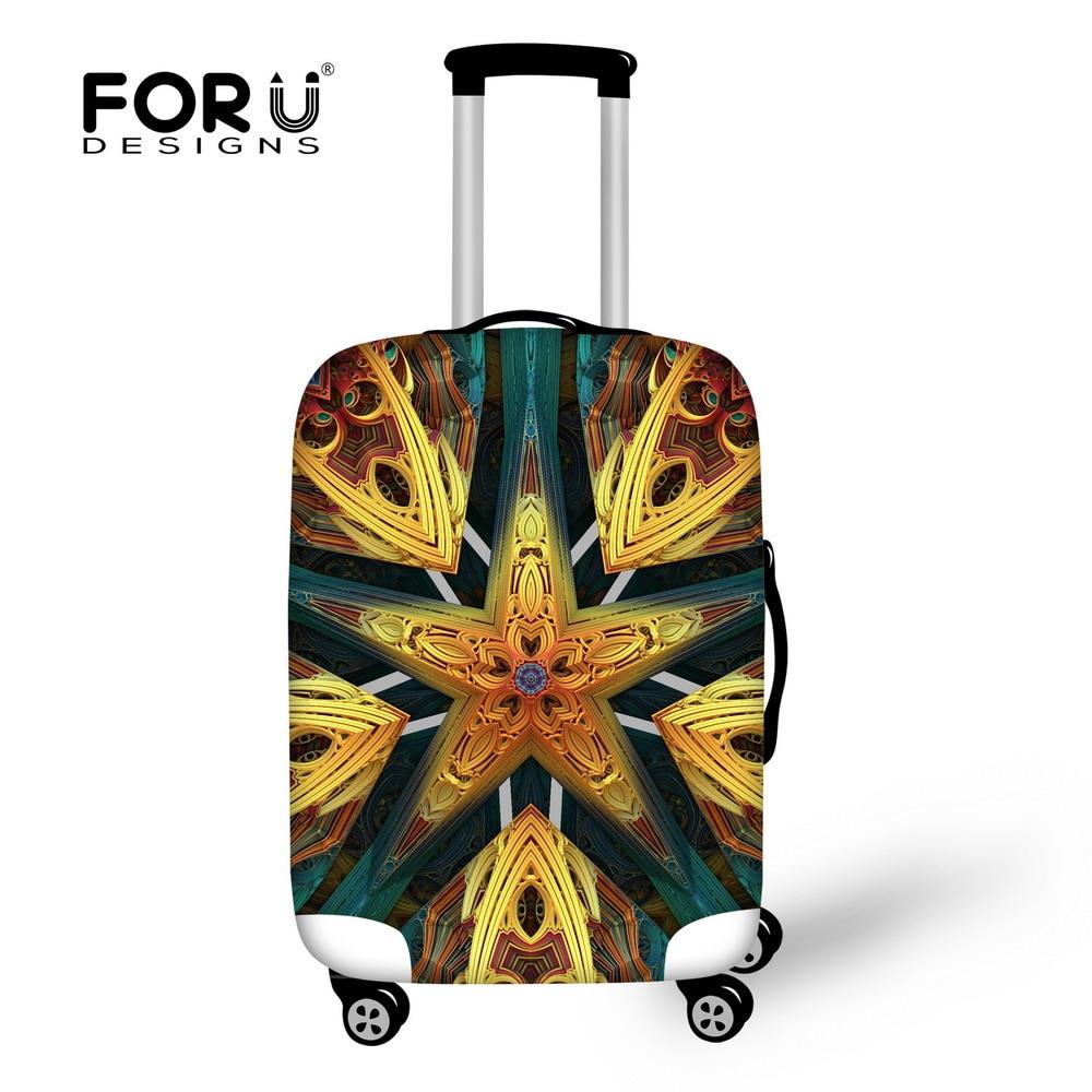 Forudesigns пыле Чемодан защитный чехол для 18-30 дюймов тележка чемодан Крышка Туристические товары эластичные (только крышка