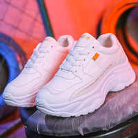 Casual Shoes Women Chunky Sneakers Fashion Dad Shoes For Women Spring Autumn White Sneaker Shoes Platform Vulcanize Shoes