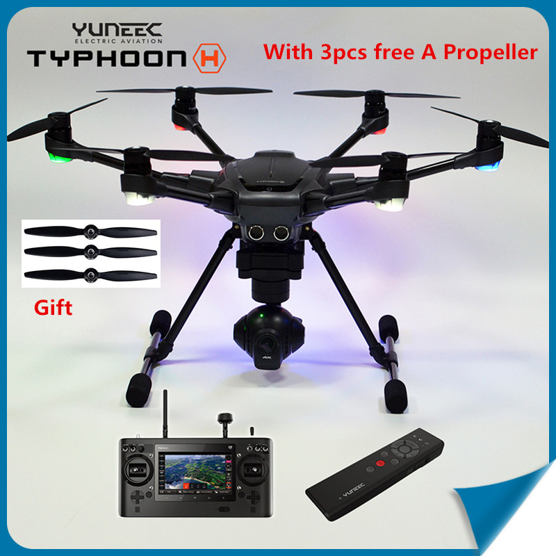 (In Store)Original Yuneec Typhoon H 480 RC Helicopter Drone with Camera HD 4K RTF 3-Axis 360 Rotation Gimbal Touchscreen
