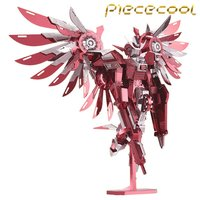 2016 Limited Edition Piececool 3D Metal Puzzle Thundering Wings Gundam P069 RS DIY 3D Metal Puzzle