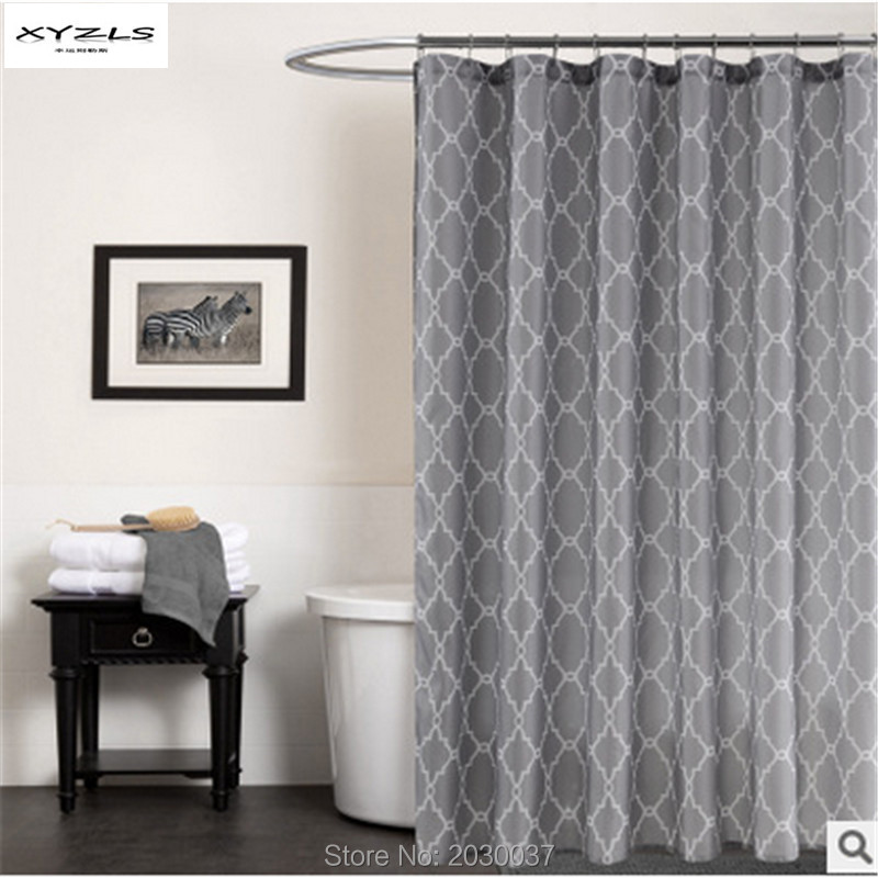 XYZLS High Quality Polyester Bathroom Shower Curtain/Shade Modern Geometric Bathroom Curtain 70x72inch 70x79inch ...