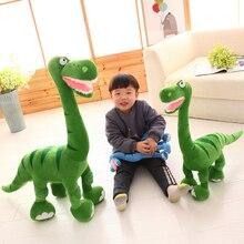 Cxzyking новый моделирование динозавров плюшевые Игрушки Кукла мультфильм мягкая игрушка для детей подарок на день рождения 35 см