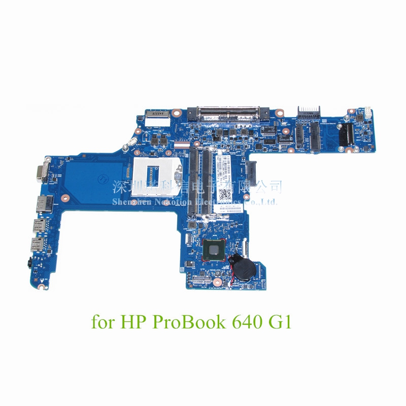 NOKOTION 744077-601 744007-001 For HP ProBook 640 G1 Laptop motherboard 14 Inch GMA HD 4400 DDR3LNOKOTION 744077-601 744007-001 For HP ProBook 640 G1 Laptop motherboard 14 Inch GMA HD 4400 DDR3L