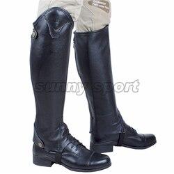 Equipo de equitación ecuestre grandes leggings de cuero protector de caballero talla grande 5XL equipo ecuestre Dressage