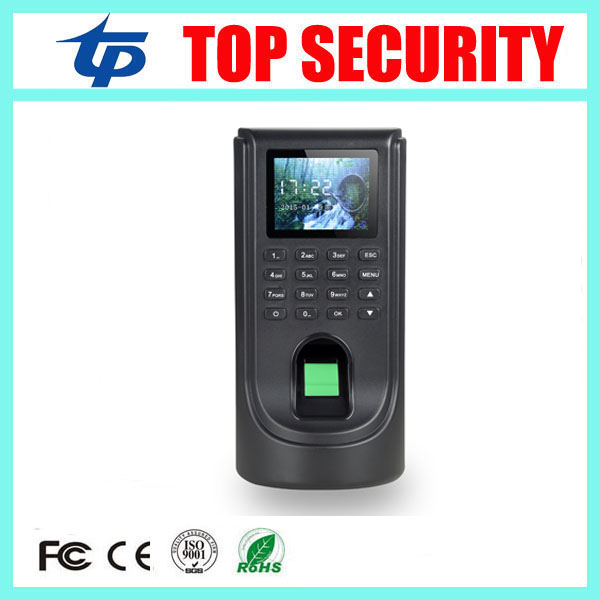 TCP/IP biometric fingerprint time attendance and access control system 1000 users cheap price door access controller reader tcp ip biometric face recognition door access control system with fingerprint reader and back up battery door access controller