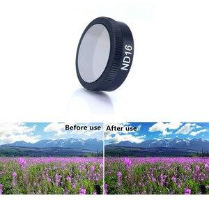 Image 5 - 6 teile/satz Filter ND4 ND8 + + ND16 + ND32 + UV + CPL ND Filter Optische glaslinse Für DJI Mavic Luft Drohne Zubehör
