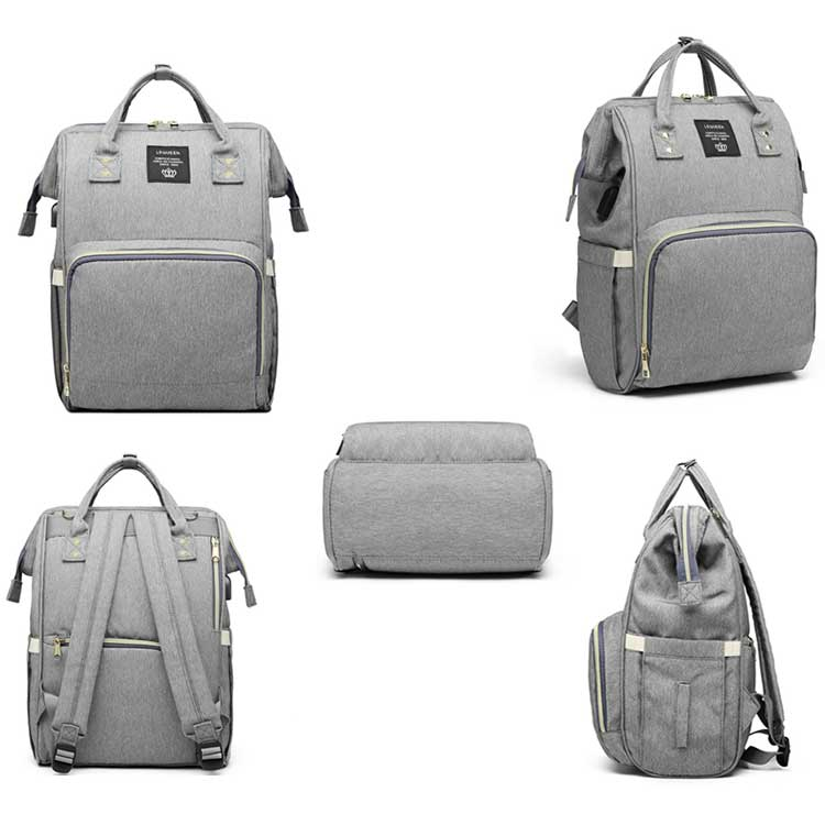 HTB1TaJpPbPpK1RjSZFFq6y5PpXaN Lequeen USB Mummy Maternity Nappy Bag Brand Large Capacity Baby Bag Travel Backpack Designer Nursing Bag for Baby Care