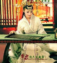 Anxiang nouvelle TV jeu Legend of Sunzi Suntzu actrice JingTian luxe Hanfu Costume Invisible parfum(China)