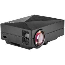 GM60 Portátil Multimedia Home Theater Mini Proyector de Vídeo Al Aire Libre HD 1080 P 200 Lúmenes soporte HDMI VGA AV USB Inteligente teléfono