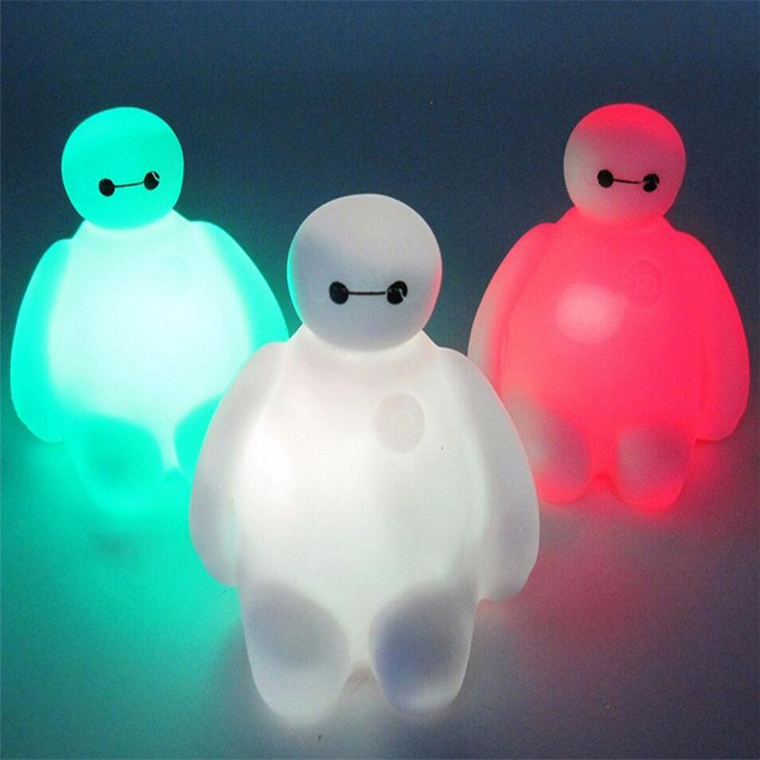 Luzes da Noite table lamp led night light Features 3 : Bedroom Luminaire, decorative Children's Luminaire, light in 3d