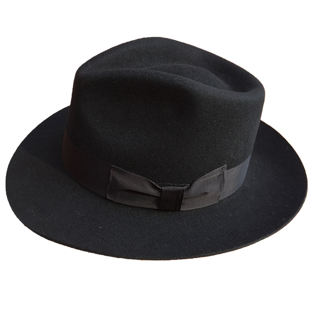 Classic Men s Wool Felt Godfather Fedora Hat Gangster Mobster Michael  Jackson Gentleman Hat MANY COLORS-in Fedoras from Apparel Accessories on ... eac5cea3354d