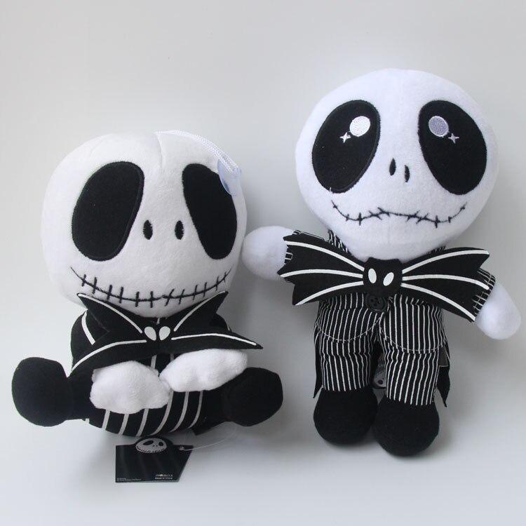 "The Nightmare Before Christmas Jack Skellington Stuffed Doll 8/"" Plush Gift toy"