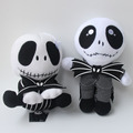 "Hot 8"" The Nightmare Before Christmas Jack Skellington Stuffed Plush Toy Doll Excellent Halloween Gift"