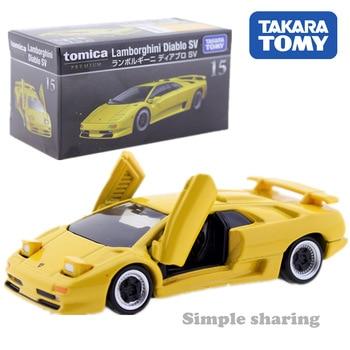 Tomica Premium N 15 Lamborghini Diablo Sv Amarillo Takara Tomy De Fundicion De Metal Coche De Juguete Modelo De Vehiculo Juguetes Para Los Ninos