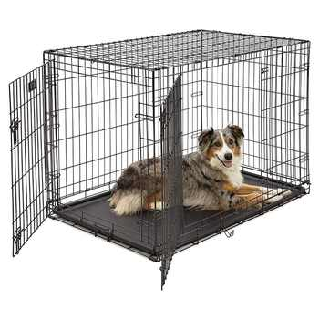 Homes for Pets Dog Single Door & Double Door Folding Metal Dog Crates - DISCOUNT ITEM  0% OFF All Category