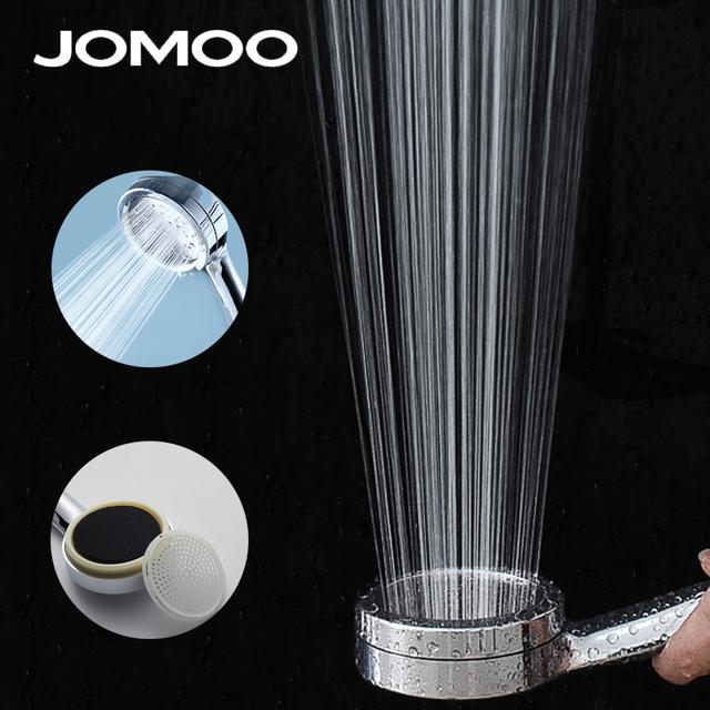 JOMOO Bathroom High Pressure Rain Shower Head Water Saving Round ABS Chrome wc Handheld rainfall Showers heads douche accessori