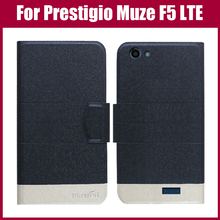 Лидер продаж! Prestigio Muze F5 LTE чехол Новое поступление 5 цветов модный кожаный чехол с откидной крышкой и ультра-тонкий кожаный защитный чехол-сумка для телефона