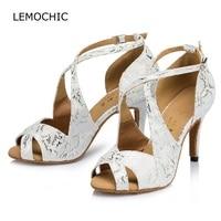 LEMOCHIC Ladies Professional Ballroom Dancing Popular Explosion Good Quality Printing New Styles Latin Tango Jazz Dancing