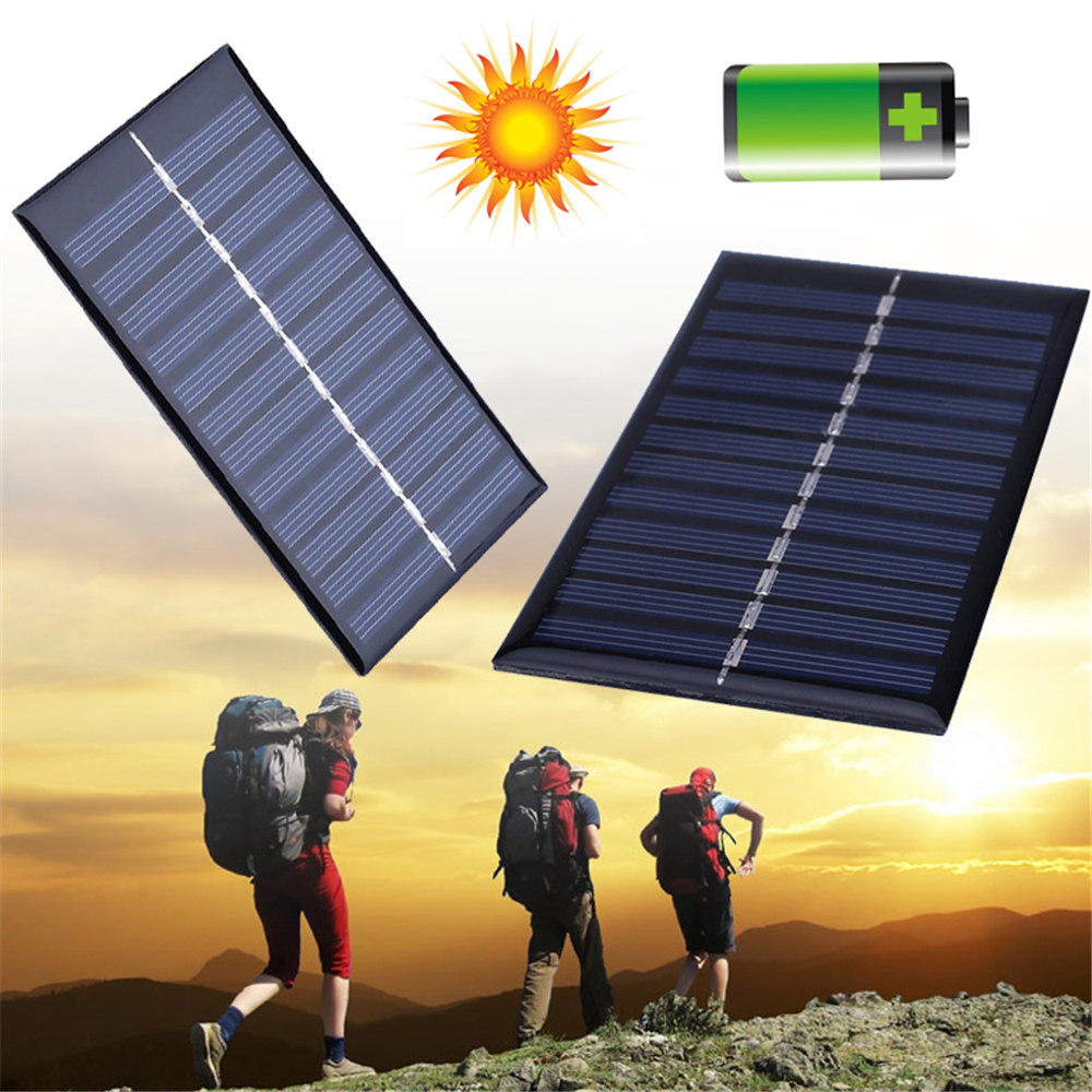 BCMaster 40pcs Mini 6V 1W Solar Power Panel Solar System DIY Battery Cell Phone Chargers Portable цена