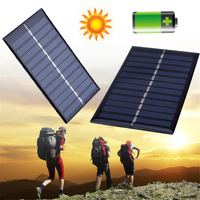 BCMaster 40pcs Mini 6V 1W Solar Power Panel Solar System DIY Battery Cell Phone Chargers Portable