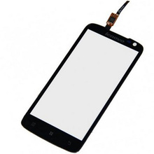 Black New Touch Panel For Lenovo S820 Touch Screen Digitizer Front Glass Panel Sensor Replacement