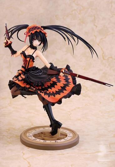ФОТО Volume order 5 Anime DATE A LIVE Tokisaki Kurumi with gun action pvc figure toy tall 22cm in box via EMS