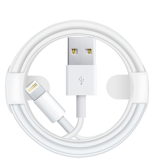 f82c8737272 100 cm 1 m/3ft Chip Original Cable USB de datos Cable cargador para Apple  iPhone ...