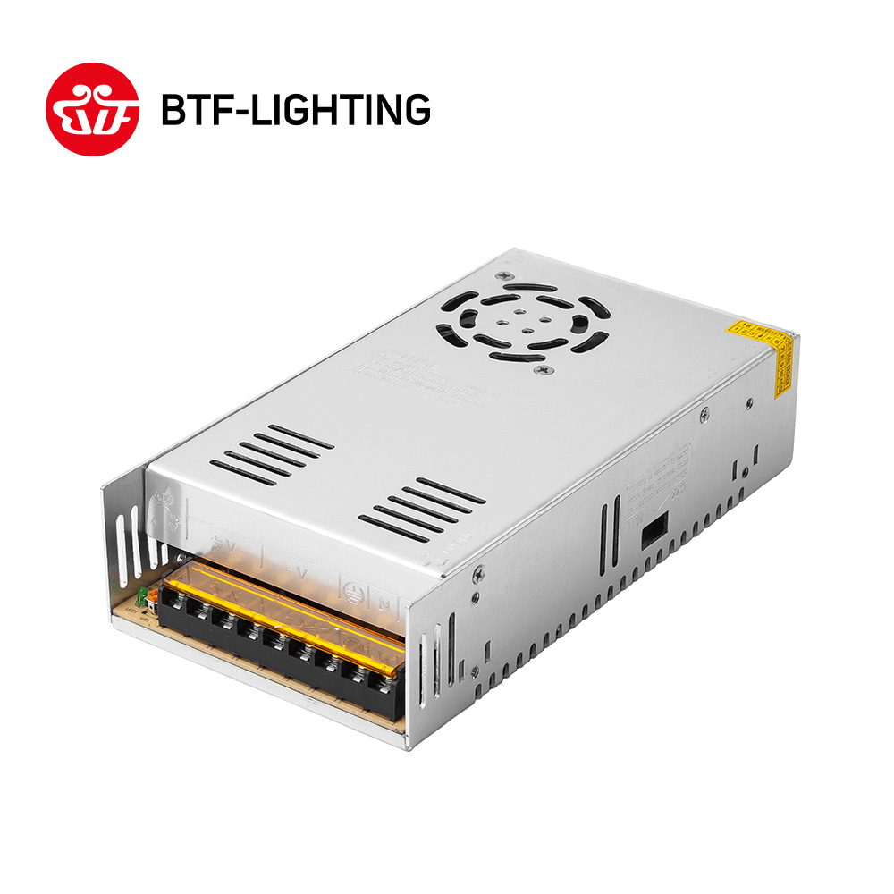 12V 30A 360W AV110~220V TO DC12V 30A Lighting Transformers Regulated Switching Power Supply For 5050 3528 LED Strip