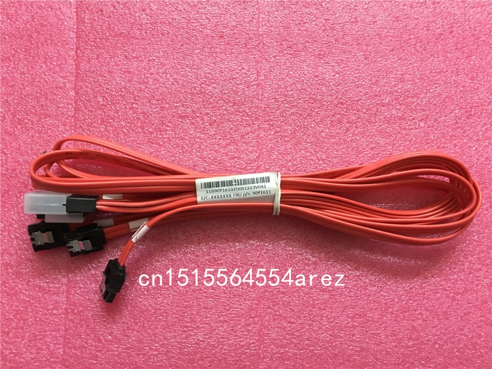 New Original laptop Lenovo THINKSTATION D30 Mini SAS to 4SATA CONNECTION 880mm CABLE Assembly 90Y1611 недорго, оригинальная цена