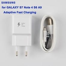 SAMSUNG Original Fast Charger For Samsung GALAXY S7 S6 C5000 C7 Note4 N9100 A7 2016 A7100 C7000 G9280 A9 S6 edge+ J3 J7 SM-A710F все цены
