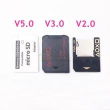 Haute qualité 5.0 SD2Vita adaptateur pour PS Vita 1000 2000 fente pour carte mémoire pour PSVita Micro SD lecteur de carte adaptateur