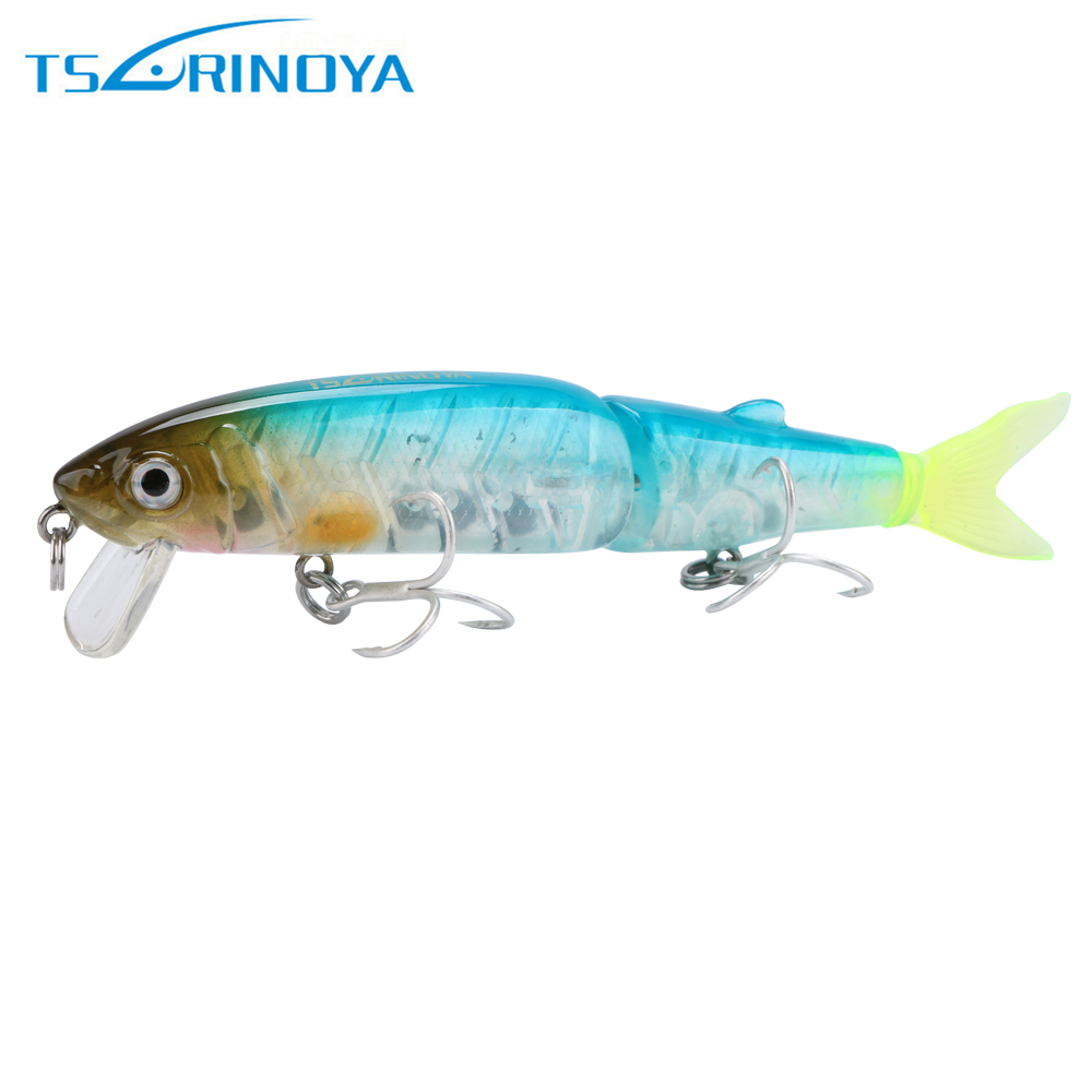 Trulinoya DW42 Minnow Fishing Lure 2 Segments Hard Fishing Lures Artifical Bait  113mm 13g 1pcs trulinoya carp fishing lure minnow lures bait artificial 88mm 7 2g 3d eyes treble hook hard bait two segments fishing tackle