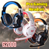 KOTION EACH G2000 Gaming Headphone G2000 3 5mm Pro Gaming Headset Headphone For PS4 Laptop Earcup