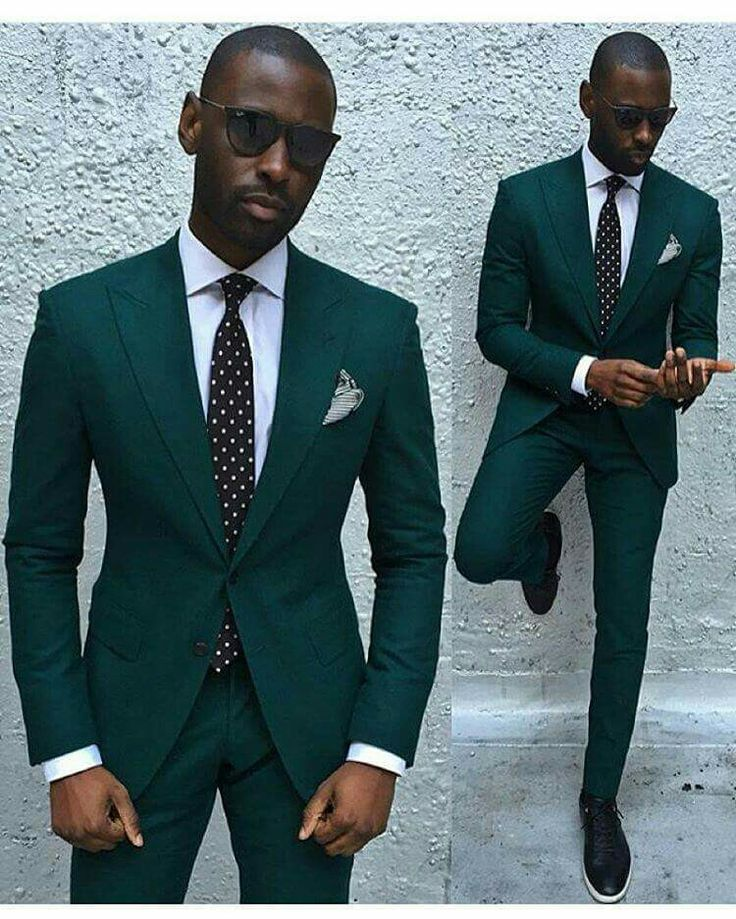 New Fashion African Groom Tuxedos Shawl Lapel Wedding Suits for Men ...