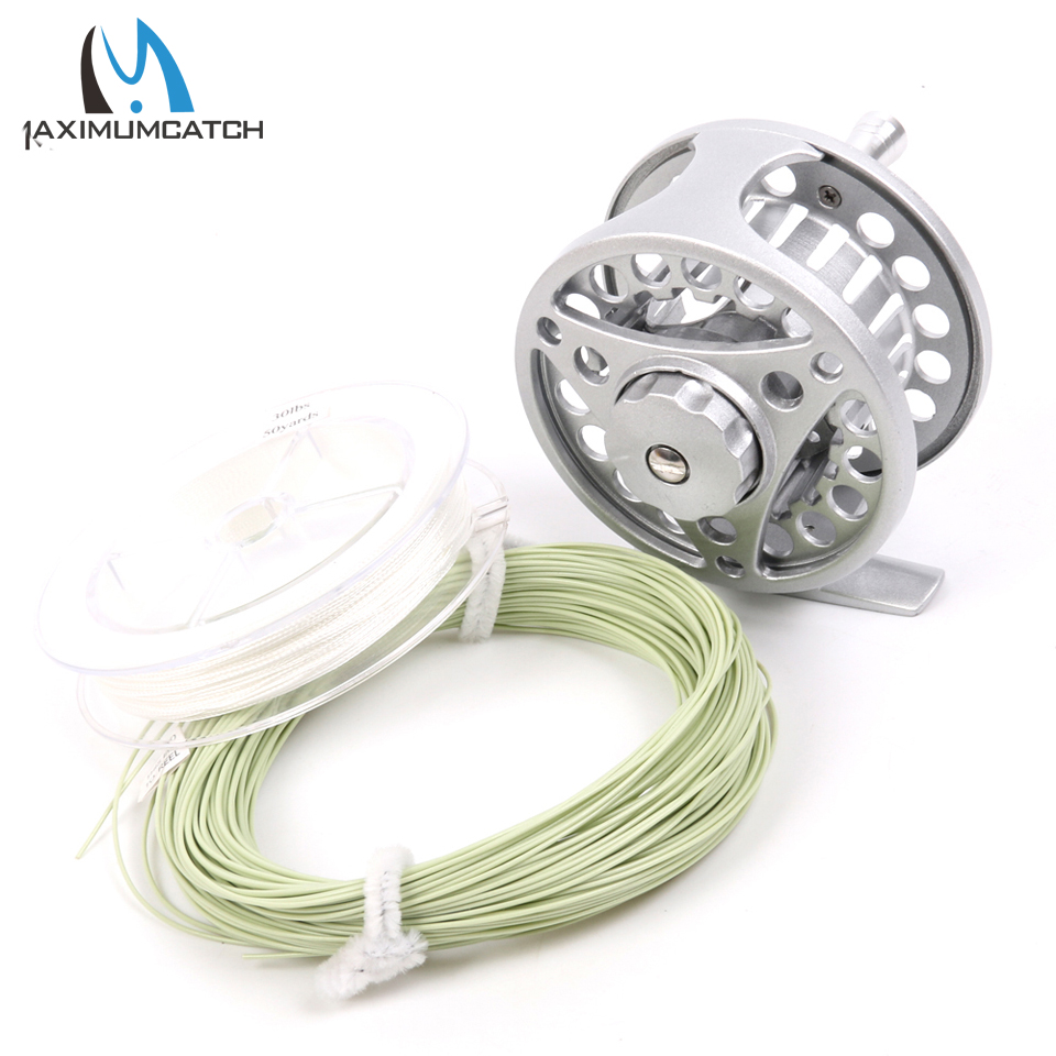 Fly fishing reel and fly fishing line combo 2wt 3wt 4wt for Fly fishing line