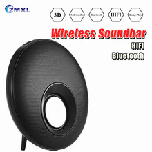 New Arrival Friction Disc Q5 Bluetooth speaker Stereo Transportable Wi-fi Twin Fingers-free With Mic TF Card USB FM Radio