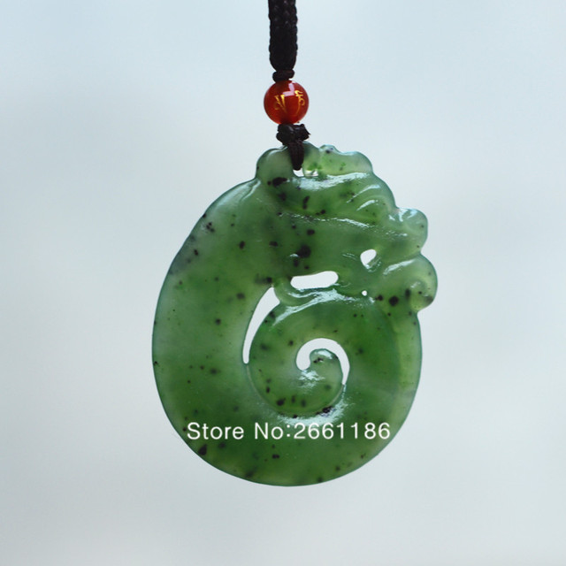 Certificate natural green stone pendant carved hollow out chinese certificate natural green stone pendant carved hollow out chinese dragon pendant necklace gift aloadofball Gallery