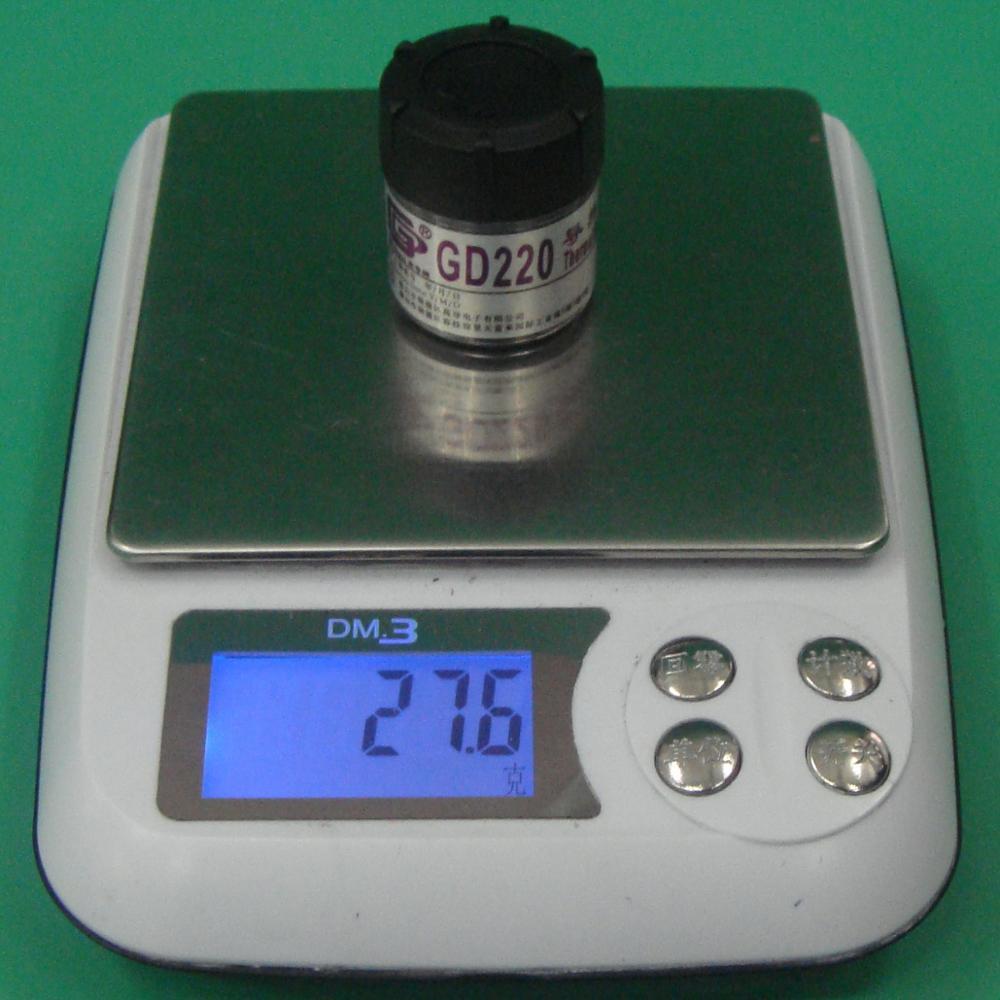 Compuesto de silicona de pasta de grasa conductora térmica de marca - Componentes informáticos - foto 2