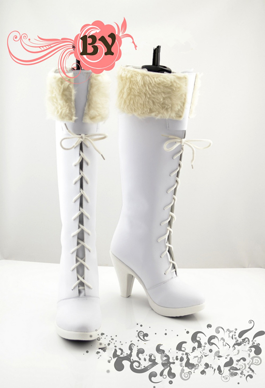 Customized One Piece  NICO Robin  Cosplay Shoes Anime Boots