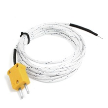 3 Meters 9.8ft K Type Thermocouple Sensor Probe -30 to 400C