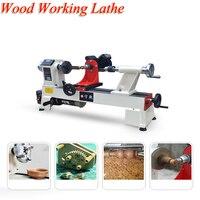 Деревообработка DIY токарный станок микро дерево бусина инструмент для обработки Multi function бусины машина для производства JWL 1218VD