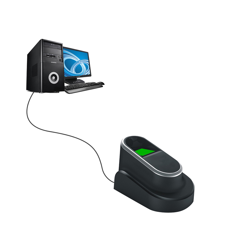 USB-сканер Eseye для считывания отпечатков пальцев для ПК, биометрический сканер отпечатков пальцев с SDK Windows Linux
