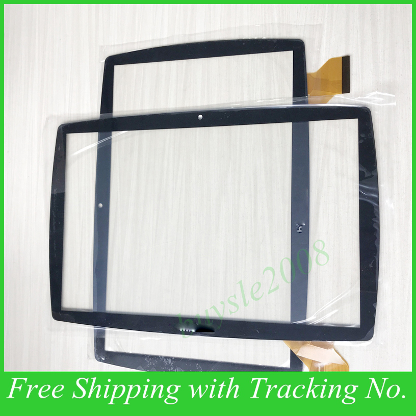 New touch screen FHF10078 For 10.1 Mio Tab Tablet Touch panel Digitizer Glass Sensor Replacement with logo Free Shipping tablet touch flex cable for microsoft surface pro 4 touch screen digitizer flex cable replacement repair fix part