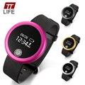 Ttlife monitoramento da freqüência cardíaca relógio smartwatch relógio de pulso inteligente para samsung s6 note 4 smartphones htc android telefone companheiro