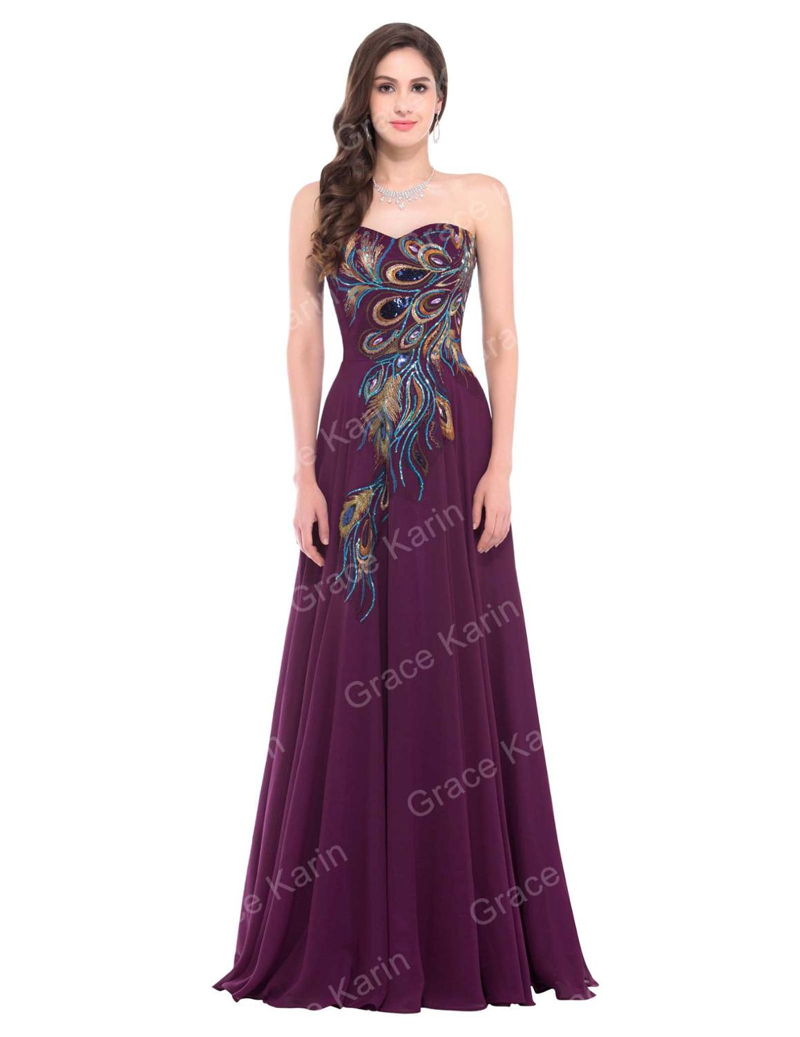 A-line Chiffon Gowns