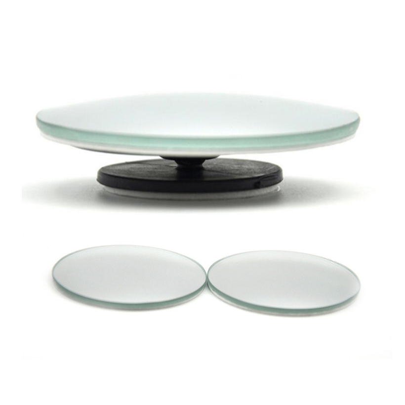 3R 360 Degree frameless ultrathin Blind Spot Rear View Mirrors Rearview Wide Angle Round Convex Mirror for Car Truck