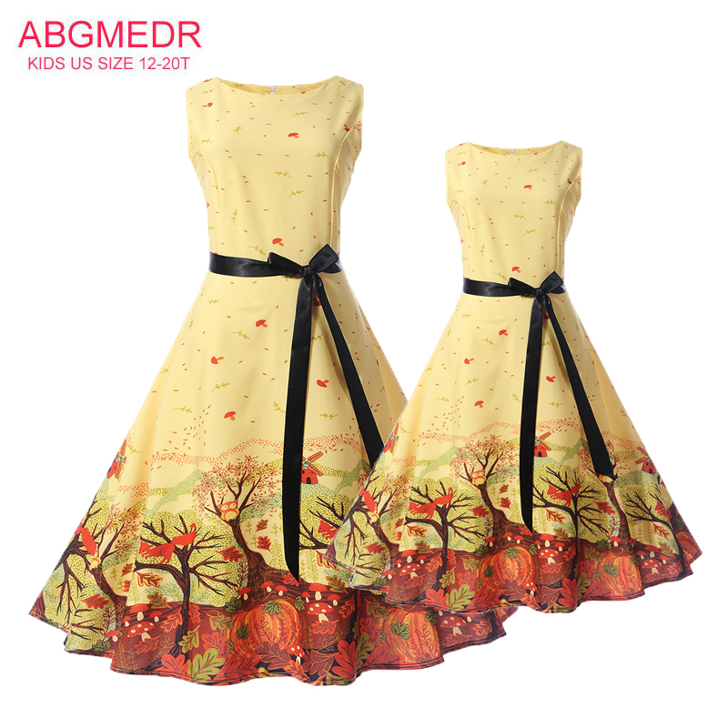 Mother Daughter Dresses Summer 2017 New Teens Girls Dress Children Clothes Mom Monsoon Kids Family Matching Outfits Clothing 2017 summer children clothing mother and daughter clothes xl xxl lady women infant kids mom girls family matching casual pajamas
