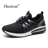 Sports Shoes Man Black Blue Man Running Shoes Air Spring Autumn Athletic Footwear Male Lightweight Non Slip Sneakers Running Air