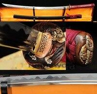 ハンドメイド1095炭素鋼japanese samurai katana sword