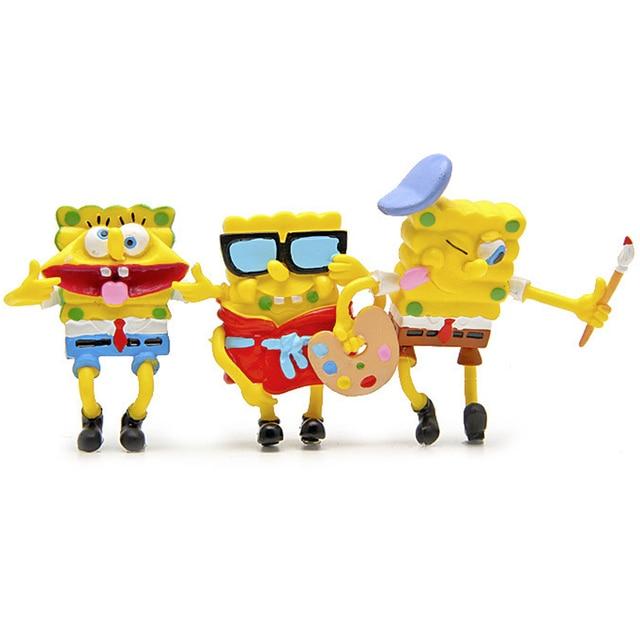 Coleo-6-Bonecos-Bob-Esponja-8cm-pvc-3